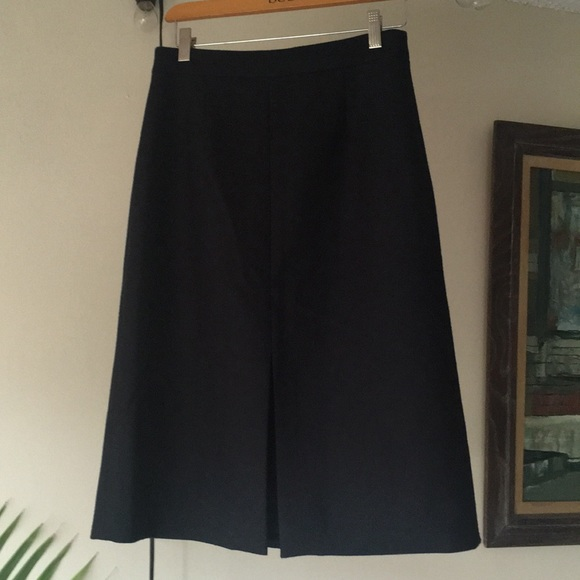 J. Crew Dresses & Skirts - New j crew black career skirt 6